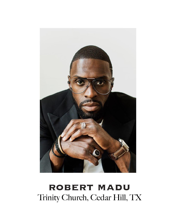Headshot of Robert Madu, Pastor at Trinity Church in Cedar Hill, Texas