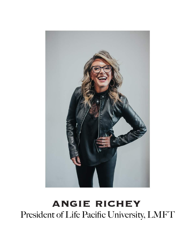 Headshot of LPU President Angie Richey