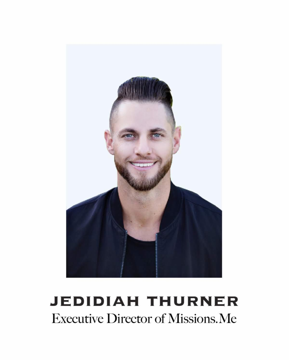 Headshot of Jedidiah Thurner, Executive Director of Missions.Me.